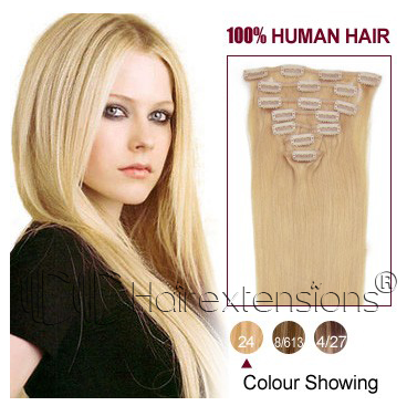 http://www.cchairextensions.com/18-inch-ash-blonde24-clip-in-hair-extensions-120g-p-1257.html