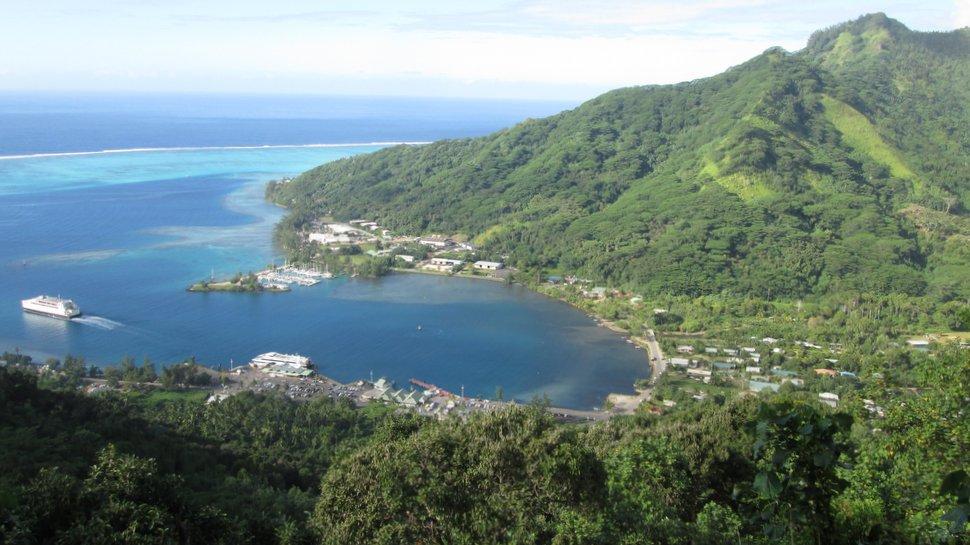 La baie de Vaiare à Moorea - Polynésie