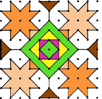Rangoli Design Pattern 10