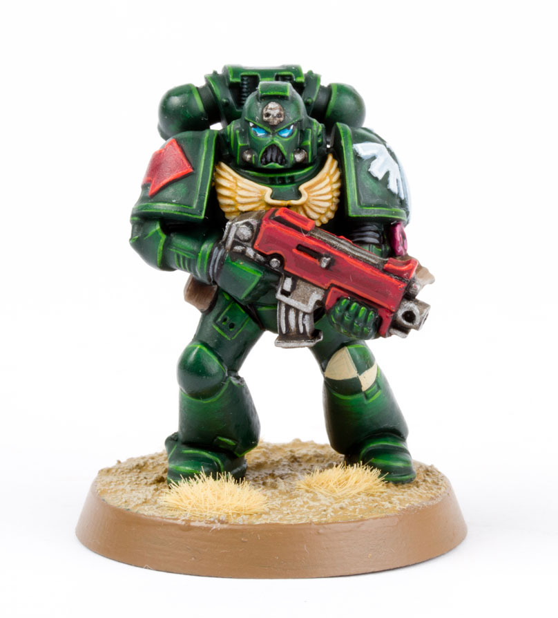 How to paint dark angels tactical marines from dark vengeance