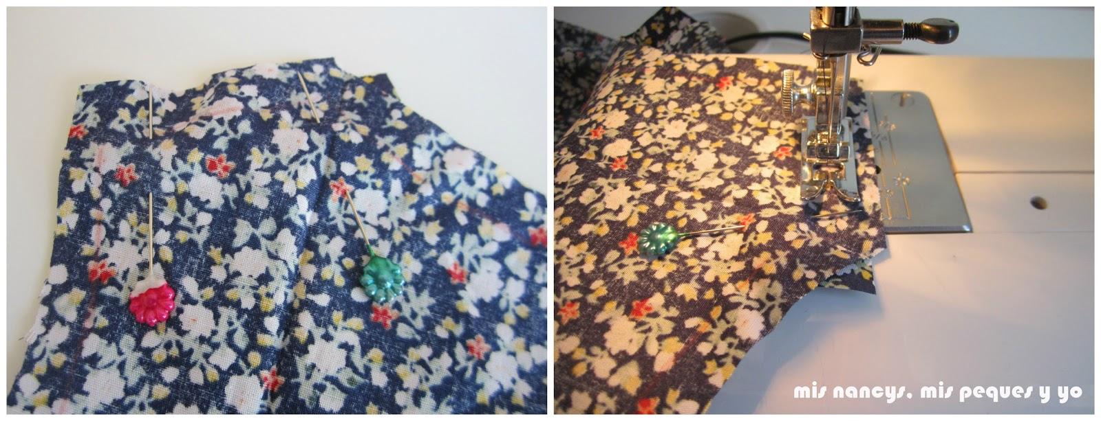 mis nancys, mis peques y yo, tutorial blusa sin mangas niña (patrón gratis), coser hombros