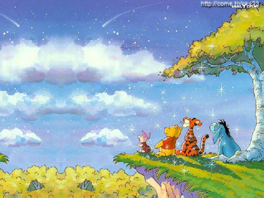 Let 39 s push game winnie the pooh wallpaper 5 for Papel de pared paisajes