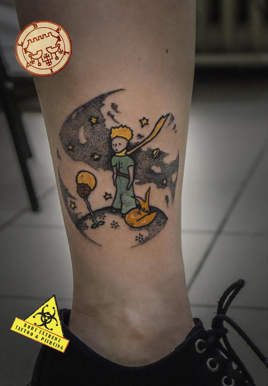 Mały Książę Body Extreme Tattoo Piercing Wrocław