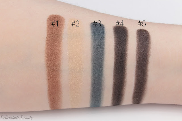 Yves Saint Laurent Fétiche Eye Eyeshadow Couture Palette Collector Cuirs Fétiches Leather Fetish Collection Fall 2014 swatches in studio lighting
