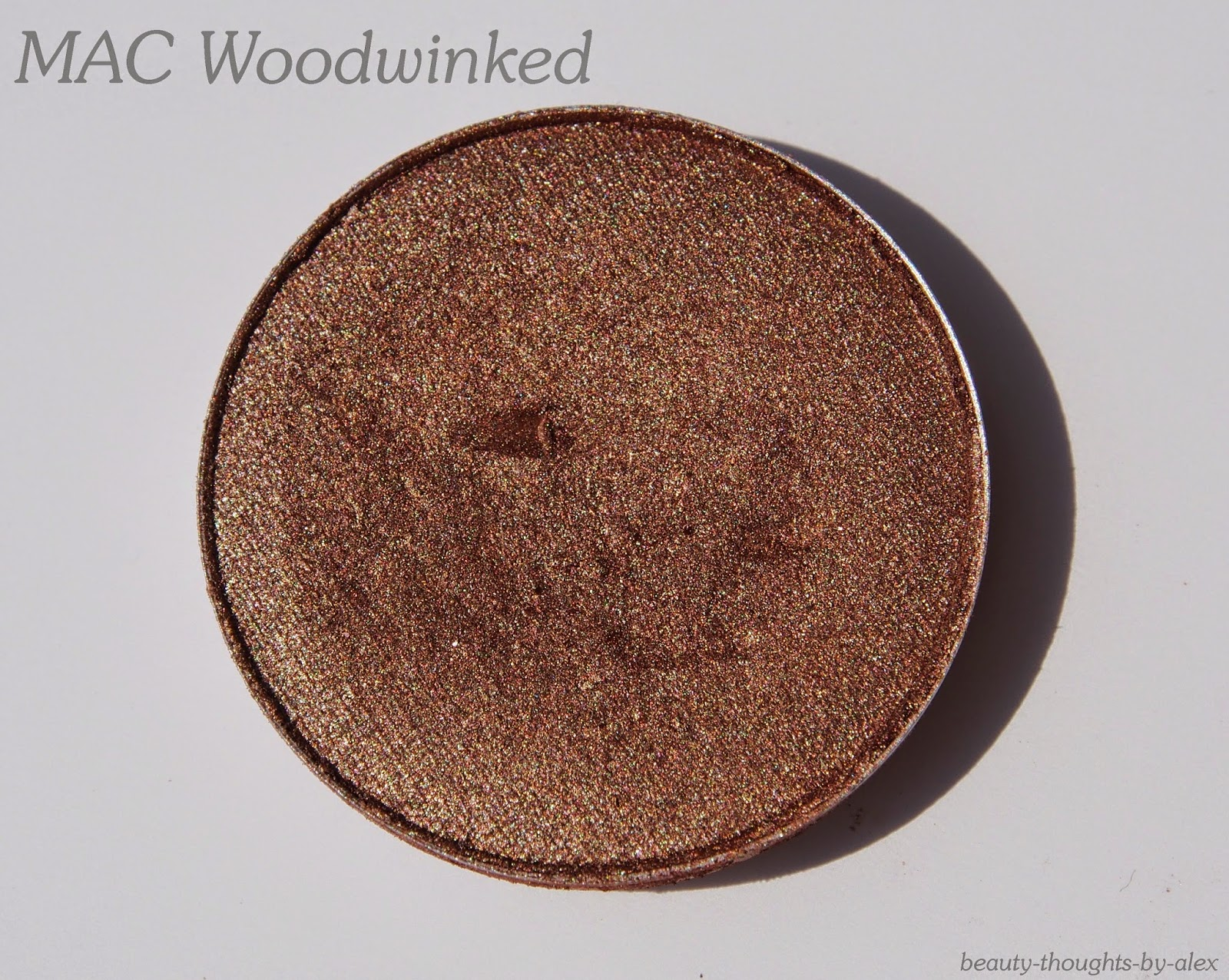 MAC Woodwinked Swatch