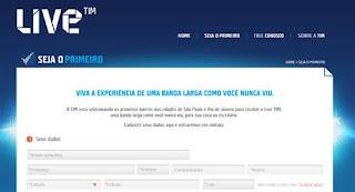 TIM vai lançar banda larga de fibra óptica