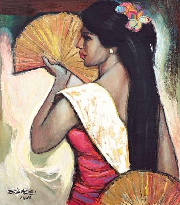 Gambar Lukisan Karya Seni Barli Sasmitawinata