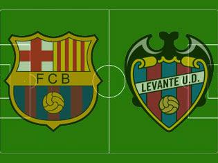 Pertandingan Barcelona vs Levante UD