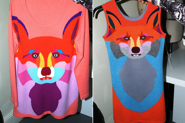 yang du knit fox london