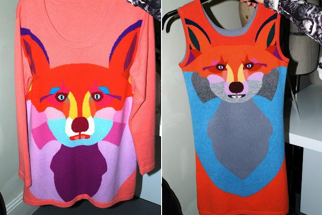 yang du knit fox london