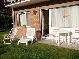 la terrasse et le jardin