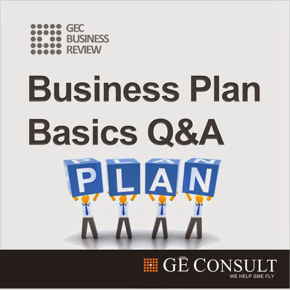 Business Plan Basic