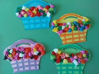 Flower Basket Cards