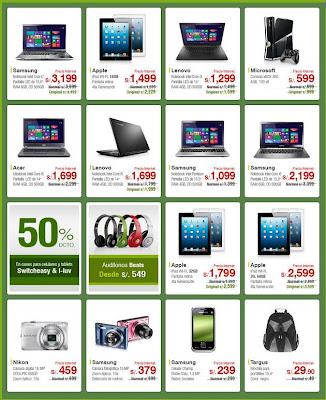 ofertas horas verde saga falabella 7-8-13