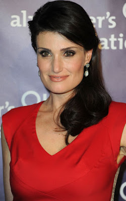 Idina Menzel Dangling Gemstone Earrings
