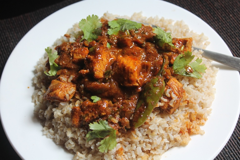 how to cook brown rice india