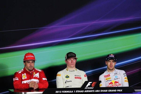 Гран-При Абу-Даби 2012, пресс-конференция после гонки!