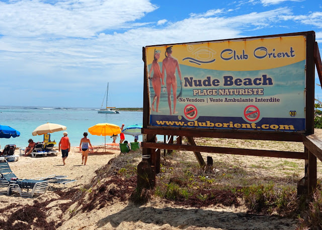 Nude Beach in St. Maarten