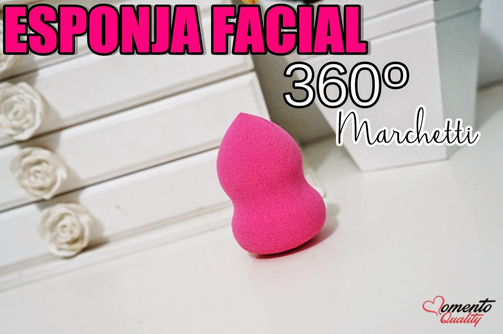 Esponja Facial 360º Marchetti Pink