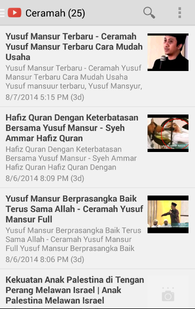 Ceramah Ustadz Yusuf Mansur