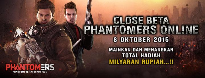 Sambut CBT, Tim Phantomers Indonesia Siapkan Enam Event Besar Buat Gamers