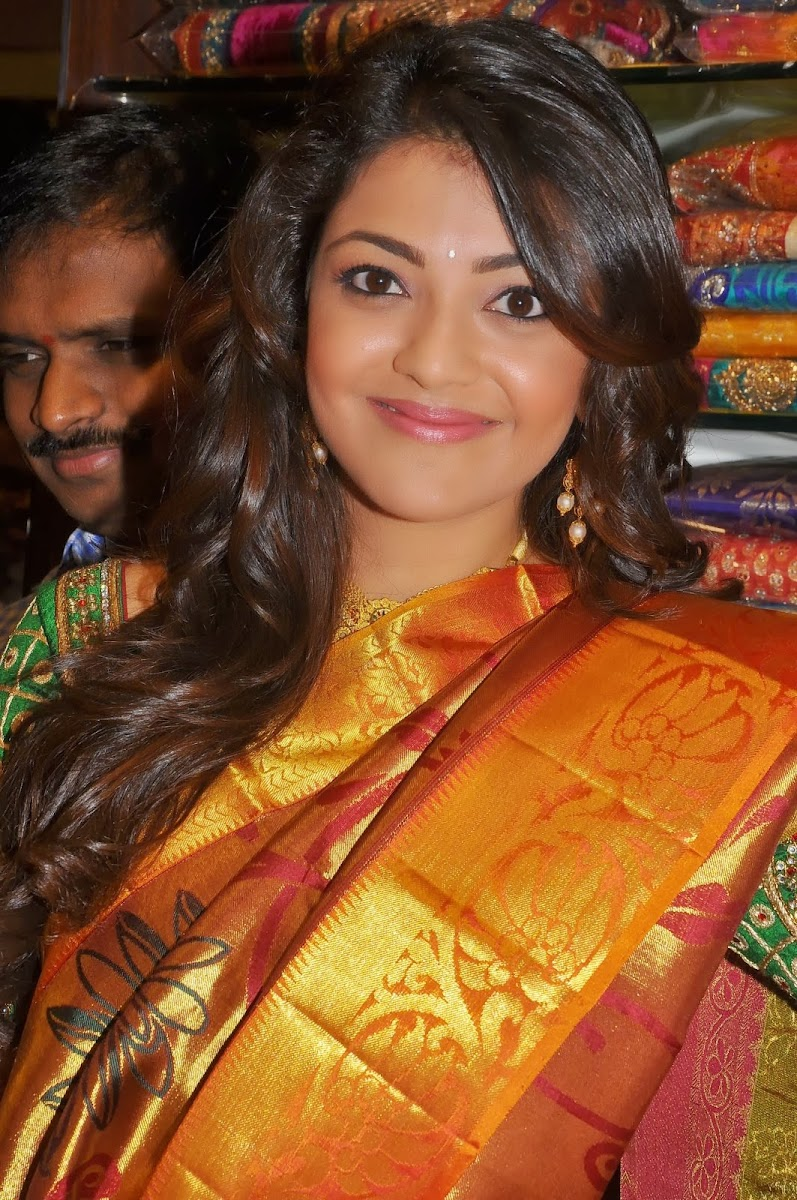 Gorgeous Kajal Agarwal Launches Chennai Shopping Mall Photoshoot