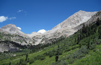 the west side of Snowmass Mountain from Geneva Lake