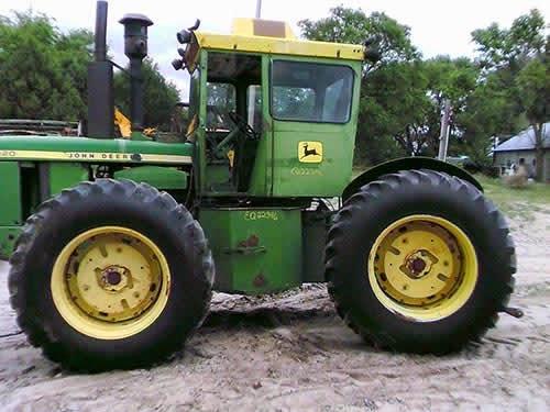 john deere 7020 tractor salvage
