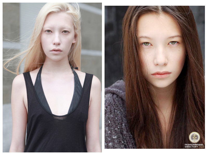 yana shmaylova before and after platinum hair