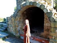 Arcada a la part de ponent del Castell Vell