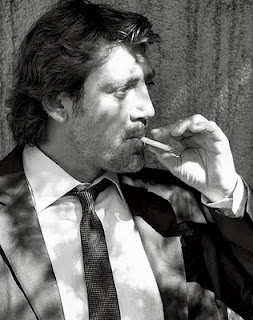 javier bardem smoking