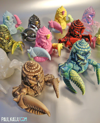 King Jinx Resin Figures by Paul Kaiju