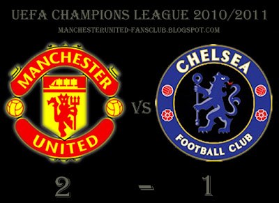 man utd champions league quarter final v chelsea