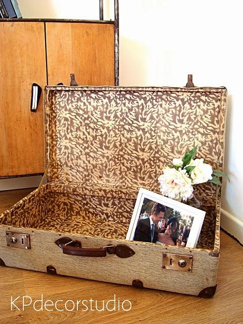 Kp tienda vintage online maleta de viaje antigua ref m22 for Maletas antiguas online