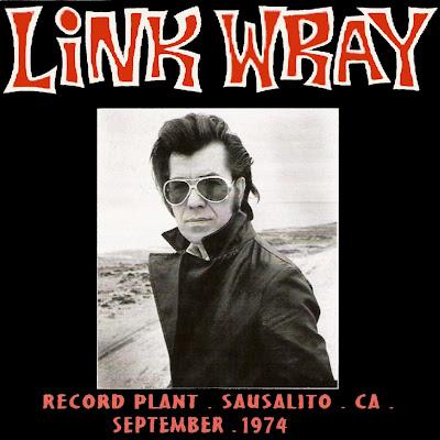 Link Wray - Record Plant - Sausalito - CA - September 1974