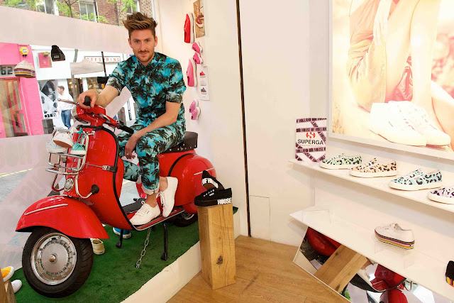 Henry Holland at House of Holland for Superga Launch