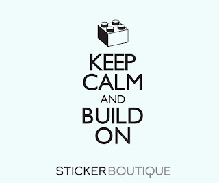 Keep Calm and Build On wall sticker