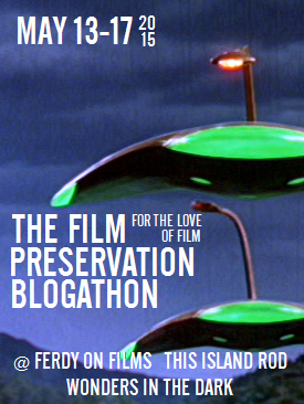 Film Preservation Blogathon War of the Worlds