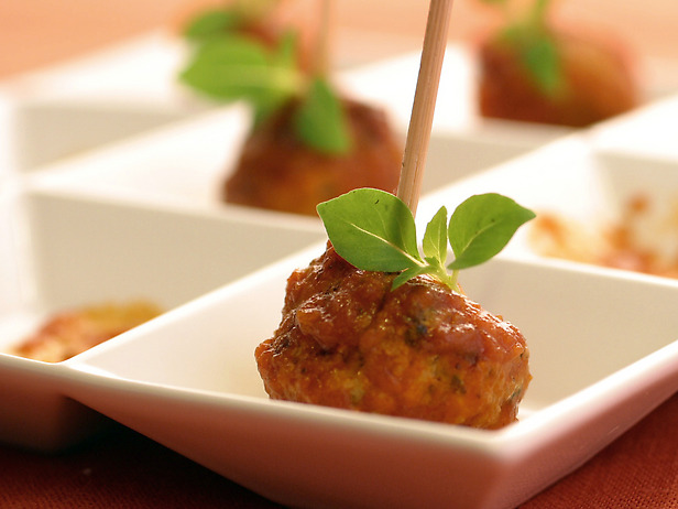 My Favorite Things: Italian Cocktail Meatballs with Herbs and Ricotta