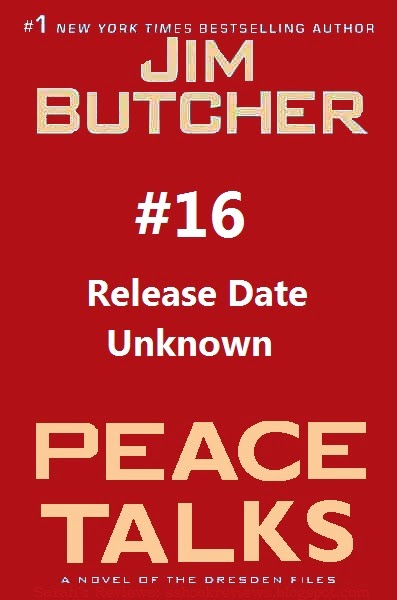 Peace Talks (Dresden Files Book 16) Sneak Peek / Spoilers Dresden Files Film Updated News
