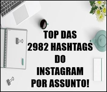Hashtags para Instagram!