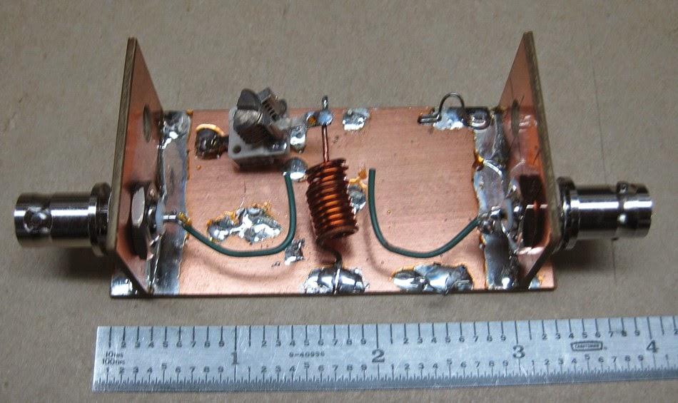 Bob's homebrew jig and resonator.