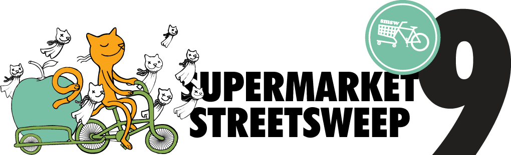 The 9th Annual Supermarket Street Sweep!