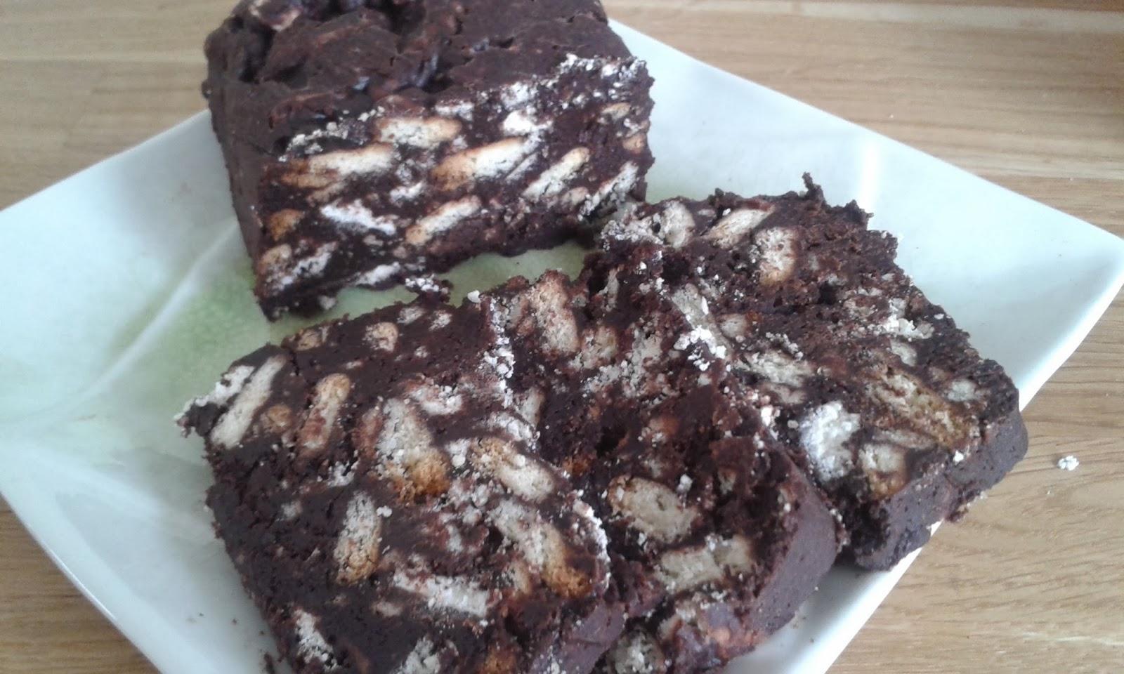 Gateau chocolat petit lu meringue
