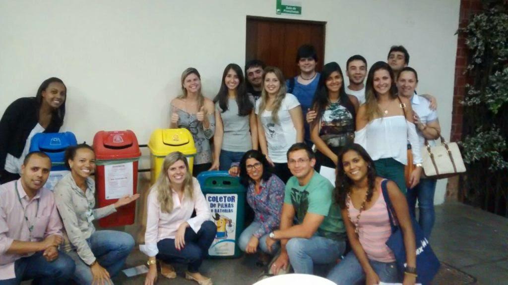 Gerenciamento de resíduos sólidos: estudantes de Engenharia do UNIFESO Teresópolis desenvolvem ações