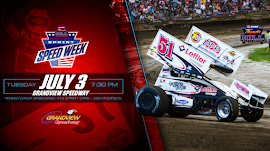 THUNDER ON THE HILL SPEEDWEEK