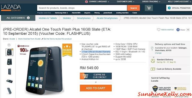 Alcatel Onetouch Flash Plus, Selfie Like A Pro, Alcatel, Flash Plus, Alcatel Smartphone, Selfie smartphone, selfie phone, pre order alcatel onetouch flash plus, lazada malaysia, lazada