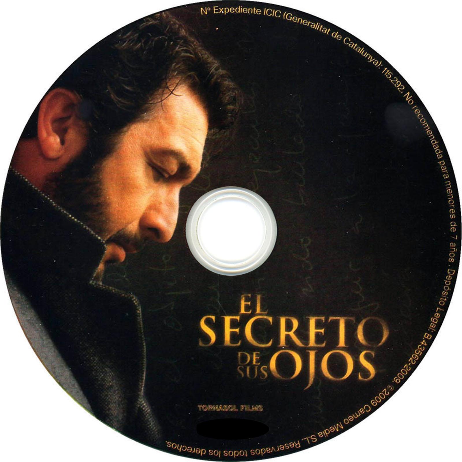 El secreto de sus ojos Dvd Label