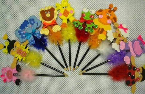 Ponteiras de lápis com moldes para lembrancinhas - Dicas pra Mamãe eff3408d2b7