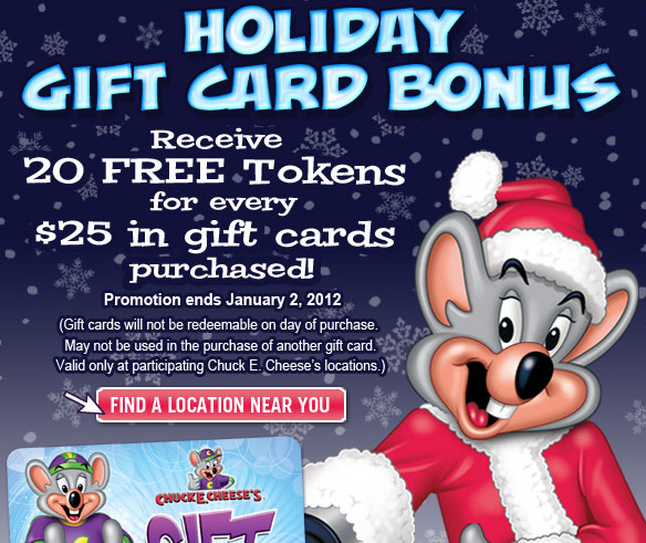 Chuck E Cheeses is a family entertainment company based out of Irving, Texas. Chuck E Cheeses offers pizzas in a thematic setup with rides, animatronics, and costume shows for children.